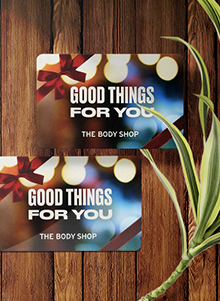 The Body Shop Gift Cards