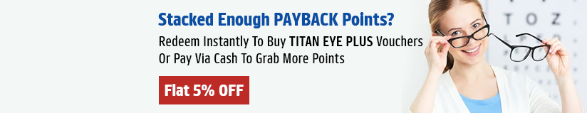 Titan Eye Plus gift voucher & Titan Eye Plus gift card
