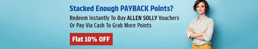 Allen Solly gift voucher & Allen Solly gift card